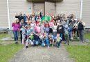 Demenes pagastā noslēdzās nometne skolas vecuma bērniem