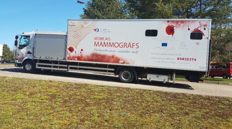 2020. gada 12. septembrī PĀRBAUDI KRŪTIS! Aicinām uz mamogrāfijas izmeklējumu!