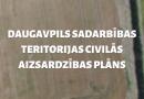 Apstiprināts Daugavpils sadarbības teritorijas civilās aizsardzības plāns